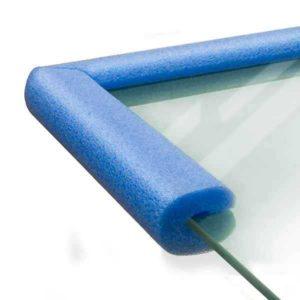 Защитный профиль для стекла из вспененного полиэтилена