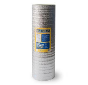 Отражающая теплоизоляция из вспененного полиэтилена НПЭ ЛП тип С 10 мм