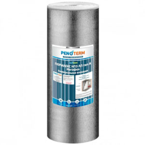 Утеплитель для пола из вспененного полиэтилена Порилекс НПЭ-ЛП 3 мм